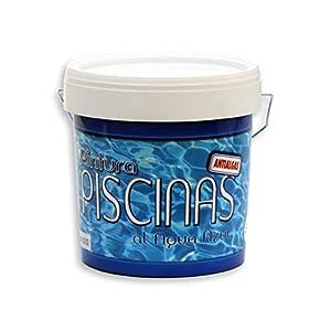 PINTURA PISCINAS AL AGUA 5 KG – ANTIALGAS – TECPISCEL W DE TECNO PRODIST