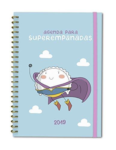 Agenda anual semana/vista Croqueta y Empanadilla 2019: Agenda para superempanadas (TANTANFAN)
