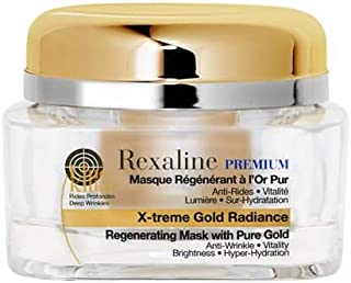 Rexaline X-treme Gold Radiance - regenend 24-karaats goudmasker - repareert rimpels - anti-aging 24-karaats goudmasker - a...