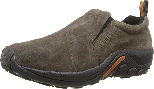 Merrell Men's Jungle Moc Slip-on Sneakers, Grey (Gunsmoke), 8.5 UK (43 EU)