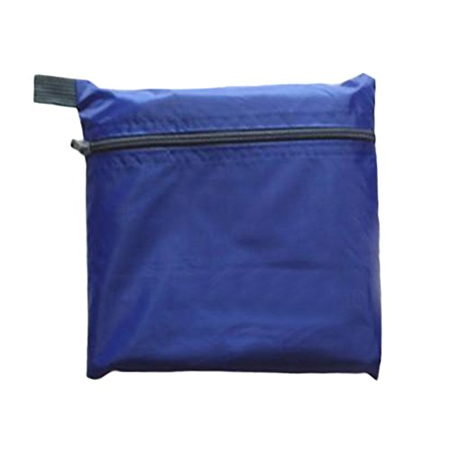 Campingzelt Sonnenschutz Ultraleicht mit Tragetasche Outdoor leicht zu tragen Sonnenschutz leicht wasserdicht Kissen, blau