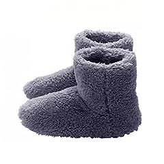Idea Regalo - Pantofole Riscaldate Usb Riscaldamento Caldo Inverno Pantofole Solette Di Riscaldamento Per La Buona Notte Sleep Sleep 5v Scarpe Da Riscaldamento
