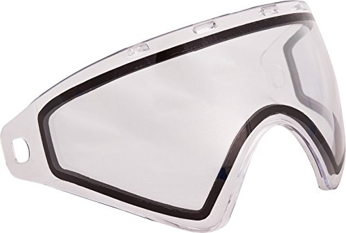 Virtue VIO Replacement Paintball Goggle Lens - Fits Ascend/Contour/Extend and XS Masks - Thermal Clear