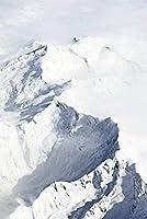 ジグソーパズル大人1000ピースすべてのピースはユニークなピースアートワーク完璧に雪の山