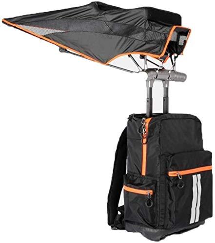 MISS KANG Paraguas al aire libre mochila inteligente, protector solar mochila de gran capacidad al aire libre de viaje ligero una bolsa de paraguas Qingchunw