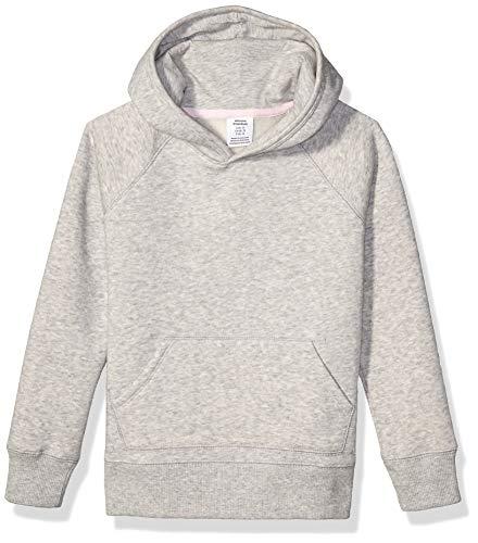 Amazon Essentials Pullover Sweatshirt fashion-hoodies, Hellgrau (Light Grey Heather), 4T