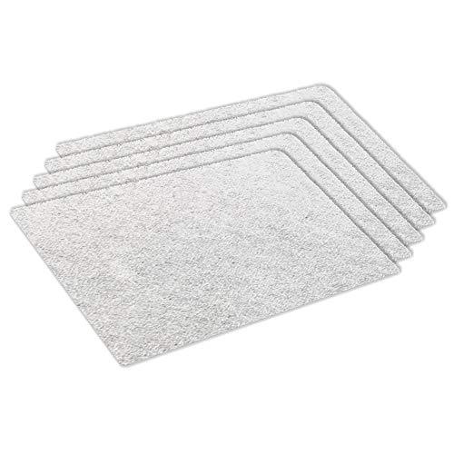 Kenekos Microfilter universeel voor stofzuigers, 255 x 200 mm, op maat te snijden fijnfilter voor apparaten van Siemens, Bosch, Miele, UVM. - 5-pack