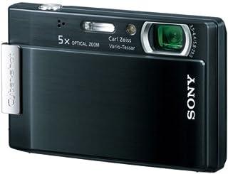 SONY デジタルカメラ Cyber-Shot(サイバーショット) T100 ブラック DSC-T100 B