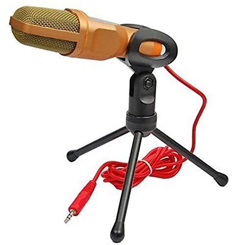 SOONHUA Micrófono de PC Profesional USB Condensador Micrófono para Portátil MAC o Windows Studio Grabación Vocals, Voice Overs, Streaming Broadcast