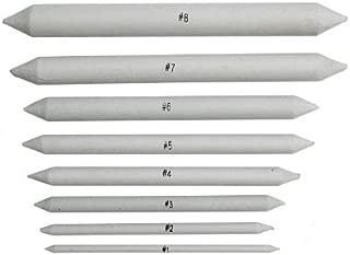 8pieza Papel Limpiaparabrisas Set Varios. Diámetro difumino