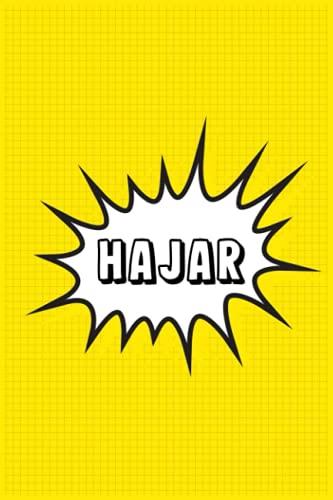 Hajar: Personalized Name Hajar Notebook, Gift for Hajar, Diary Gift Idea