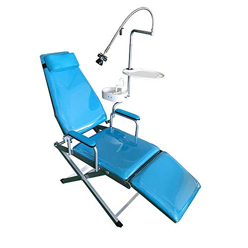 Portable Folding Chair Turbine Unit Water Supply Weak Suction Equipment &Rechargeable LED Light