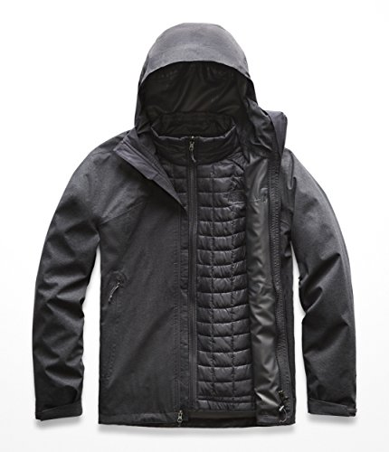 The North Face Men's Thermoball Triclimate Jacket - TNF Dark Grey Heather - S
