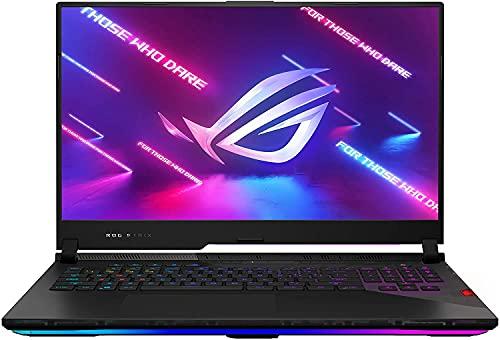 "CUK ROG Strix Scar 17 Gaming Laptop (Ryzen 9 5900HX, 64GB 3200, 2TB PCIe NVME, NVIDIA GeForce RTX 3080, 17.3"" QHD 165Hz, Windows 10 Professional) Gamer Notebook Computer (by_ASUS)"