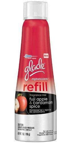 Glade Expressions Refill - Fuji Apple & Cardamom Spice - Net Wt. 7 OZ (198 g) - Pack of 2 Refills