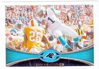 Cam Newton football card (Carolina Panthers) 2012 Topps #250
