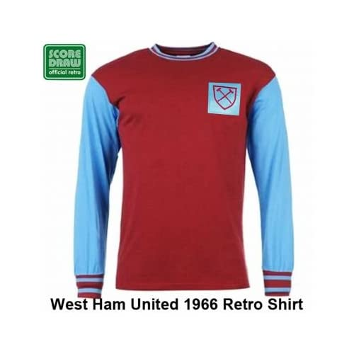 07d260a61 Amazon.com  West Ham United 1966 Retro Shirt  Sports   Outdoors