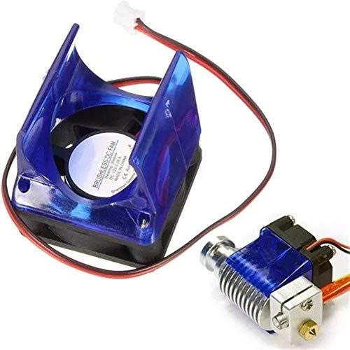 KANJJ-YU Accesorios de Impresora 3D, Accesorios de la Impresora 3D, Ventilador de refrigeración del Ventilador + V6 Cubierta for el 3D Impresoras Accesorios for impresoras Tarjeta Madre,