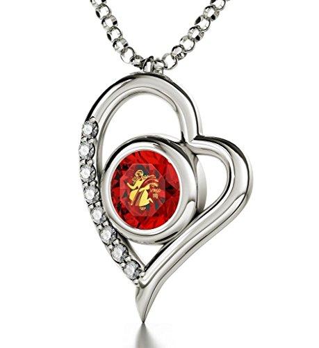 Astrología en joyas - Colgante de plata...
