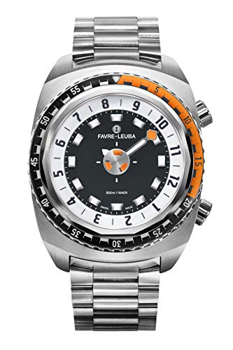 Favre Leuba Raider Harpoon 42 - Reloj de buceo profesional