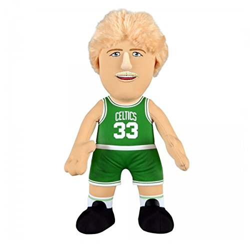 Boston Celtics Larry Bird 10' Plush Figure - A Legend for Play Or Display