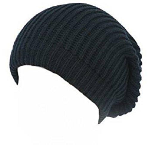 7X © Produit Original - Bonnet Oversize Fashion Wear - Coloris Noir - Tendance Mixte Collection Automne-Hiver