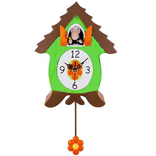 Xanadoo - OranguCoo - Wanduhr, Uhr, Kuckucksuhr - AFFE - Maße: (B/H/T) 24,0 x 30,0 x 10,0 cm