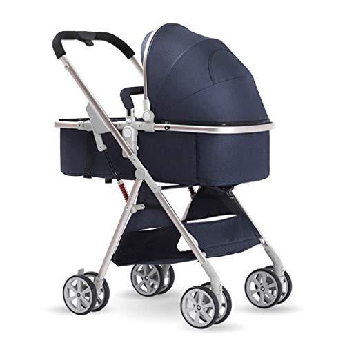 BGTRRYHY Leichtgewichtiger, zusammenklappbarer Kinderwagen für Neugeborene, kann in zwei Richtungen sitzen,...