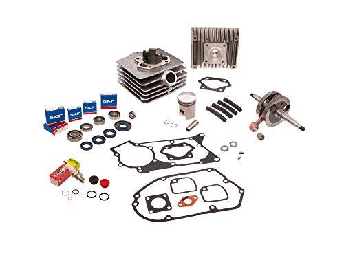AKF Set: Zylinder kpl. 60cm³ + Dichtungssatz + Kurbelwelle - für Simson S51, SR50