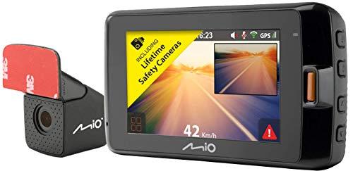 "Mio MiVue 752 WiFi GPS 2.7"" 1440p 2.5k HD Dual, Black"