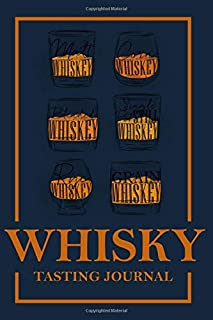 Whiskey Tasting Journal: Diary and Notebook for Whiskey Lovers, provides an easy way to quickly record whiskey tasting notes in a small, convenient notebook format