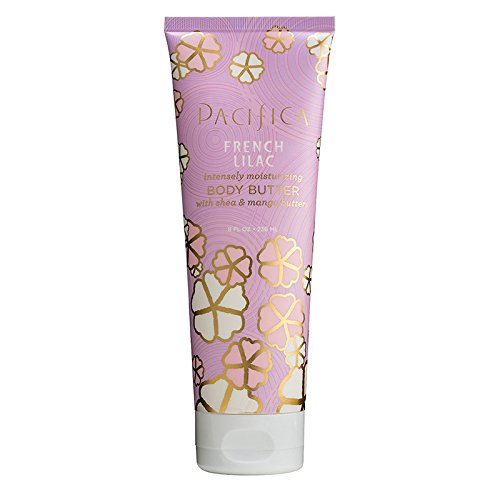Pacifica Body Butter, French Lilac, 8 Ounce