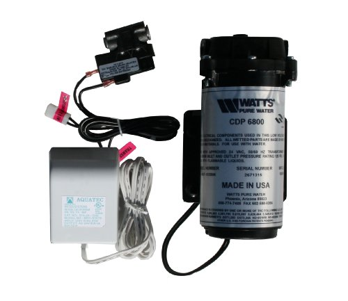 Watts Premier WP560043 Water Filtration Booster Pump Kit for Reverse Osmosis System, 560043