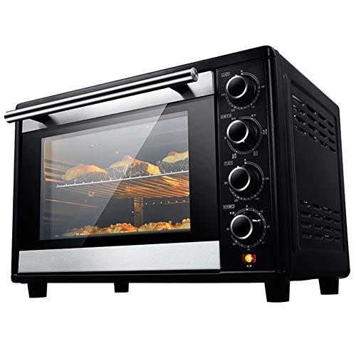 Toaster Oven STBD-Four Grille-Pain, Four Multifonction De Comptoir MéNager, Fermentation à Basse TempéRature, Plateau De Cuisson, Combiné Grille-Fourche Et Grille, Capacité De 38 L, Noir
