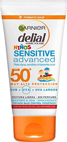 Garnier Delial Niños Leche Solar Formato Viaje Ip50 - 50 ml