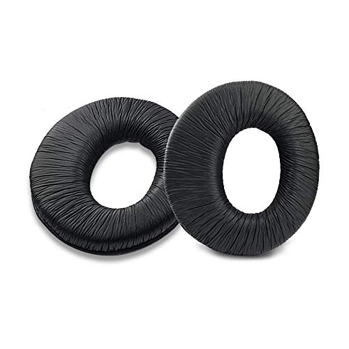 RF985R Earpads Replacement Parts Ear Cushion Cups Compatible with Sony MDR-RF985R RF985RK MDR-RF970R RF970RK 960R RF925RK RF925R Wireless Headphones, Repair Kit with Soft Leather Surface