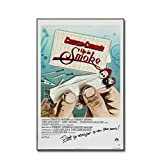 Lanruru Up in Smoke Movie Poster Cheech and Chong Poster Prints Canvas Painting Pictures Room Home Decor -20x28 Inch No Frame 1Pcs