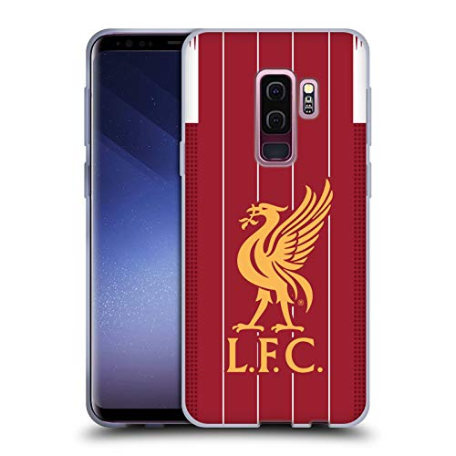 Head Case Designs Officially Licensed Liverpool Football Club Home 2019/20 Kit Soft Gel Case Compatible with Samsung Galaxy S9+ / S9 Plus