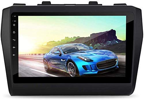 Auto Snap 9 Inch Full HD 1080 Touch Screen Double Din Player Android 8.1 Gorilla Glass IPS Display Car Stereo with GPS/Wi-Fi/Navigation/Mirror Link Compatible Maruti Suzuki Swift 2018 to 2021