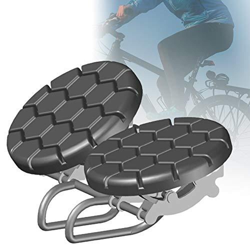 ZPCSAWA Asiento Antiprostáticos, Sillín Bicicleta Gel Muy Comodo Impermeable con Sin Presión y Suave Cómodo Ideal para Bicicleta Ciutad Eléctrica Mountainbike