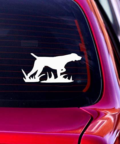 Pegatinas Coche Tuning 17.8x8.7Cm Etiqueta engomada del coche del perro de caza...