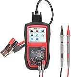 Autel AL539B Autolink Herramienta de Diagnóstico OBDII Lectura y Borrado de Códigos de Error Circuito, Carga, Arranque 12V (Al539 + Test de Batería), AL 539B