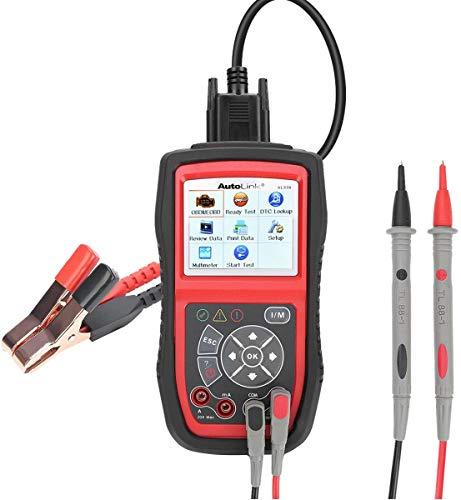 Autel KFZ-Diagnosegeräte AL539B obd2 Diagnose,Fehlercoder lesen und löschen,Echtzeit-PCM-Daten,Batterie-Test,AVOmeter für Spannung usw