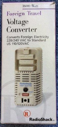 Radio Shack Voltage Converter 1600 Watt