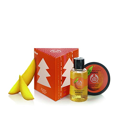 The Body Shop Treats Cube Gift Set, Mango, 1 Count