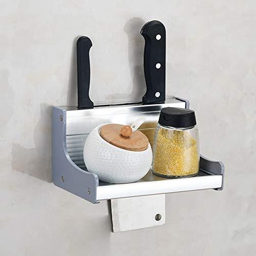 Utensilios de Cocina MMGZ 20 cm de Cocina multifunción de Pared Condimento del sostenedor del Estante de Almacenamiento