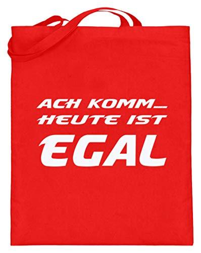 Ach Kom. Vandaag is Egal! - Feestjes, drinken, alcohol, jenever, bier, alcohol - jute zak (met lange handvatten)