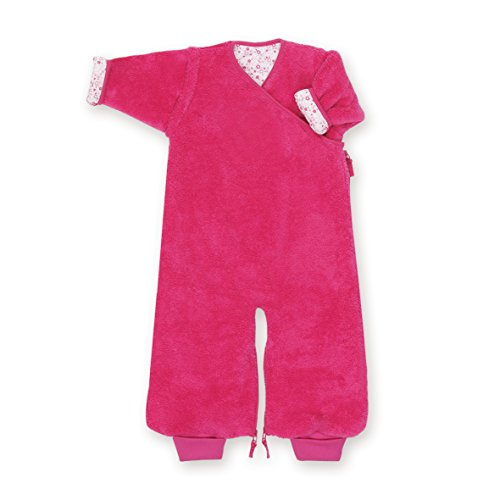 Bemini by Baby Boum 159LIZIE57SF Schlafsack mit Jersey Innenfutter 2in1 SOFTY LIZIE pompon 3-9 m ,rosa