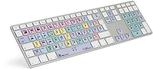 Logickeyboard LKB FCPX10AM89de Apple Final Cut Pro X Advanced Keyboard