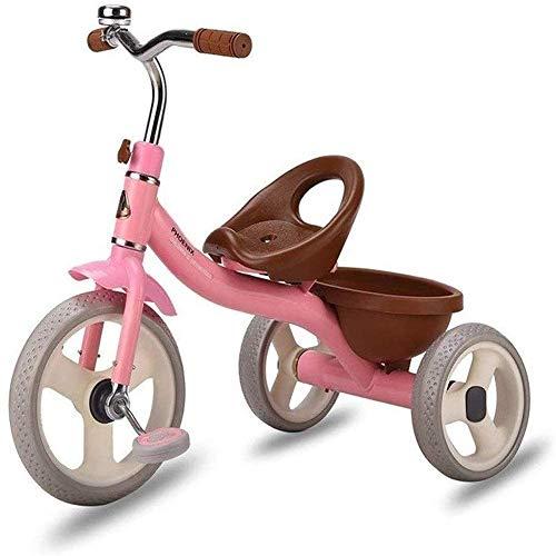 Pkfinrd driewieler Kids Licht Kinderwagen Kids driewieler Multifunctionele Fietsen 1/2/3/4/5/6 Jaar Oude Kinderen 2 Kleur